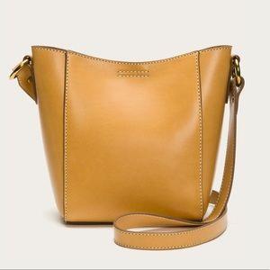 Frye Harness Crossbody Bucket - Yellow